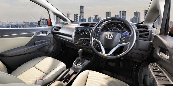 2018 honda jazz interior
