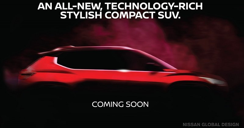 Nissan Compact SUV Teased Again, To Rival Hyundai Venue And The Likes