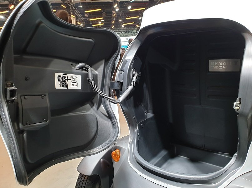 Renault Twizy India Launch For Delivery Services