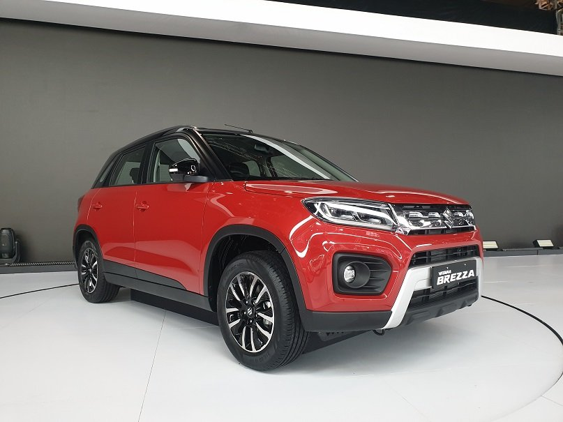 Maruti Vitara Brezza Facelift Feature List Revealed