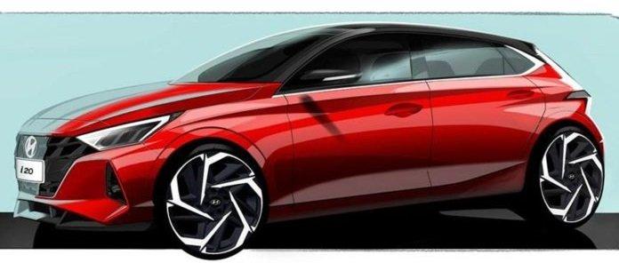2020 Hyundai Elite i20 unveil at Geneva Motor Sow in March, design sketches revealed