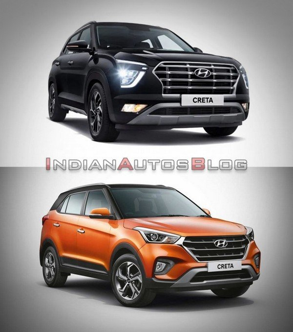 old creta vs new creta 2021
