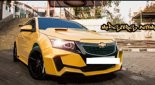 chevrolet cruze project yellow transformer front