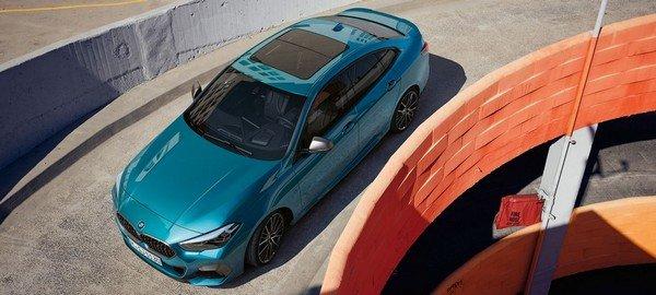 2020 bmw 2-sereies gran coupe blue colour