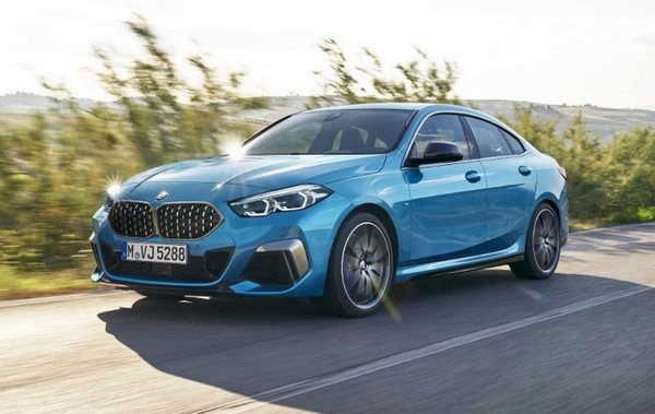 bmw 2-series gran coupe front angle