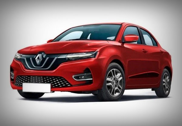 2020 renault-kwid based sub-four-metre sedan front