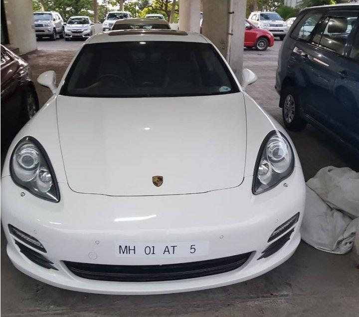 Porsche Panamera Auction - Fugitive Nirav Modi