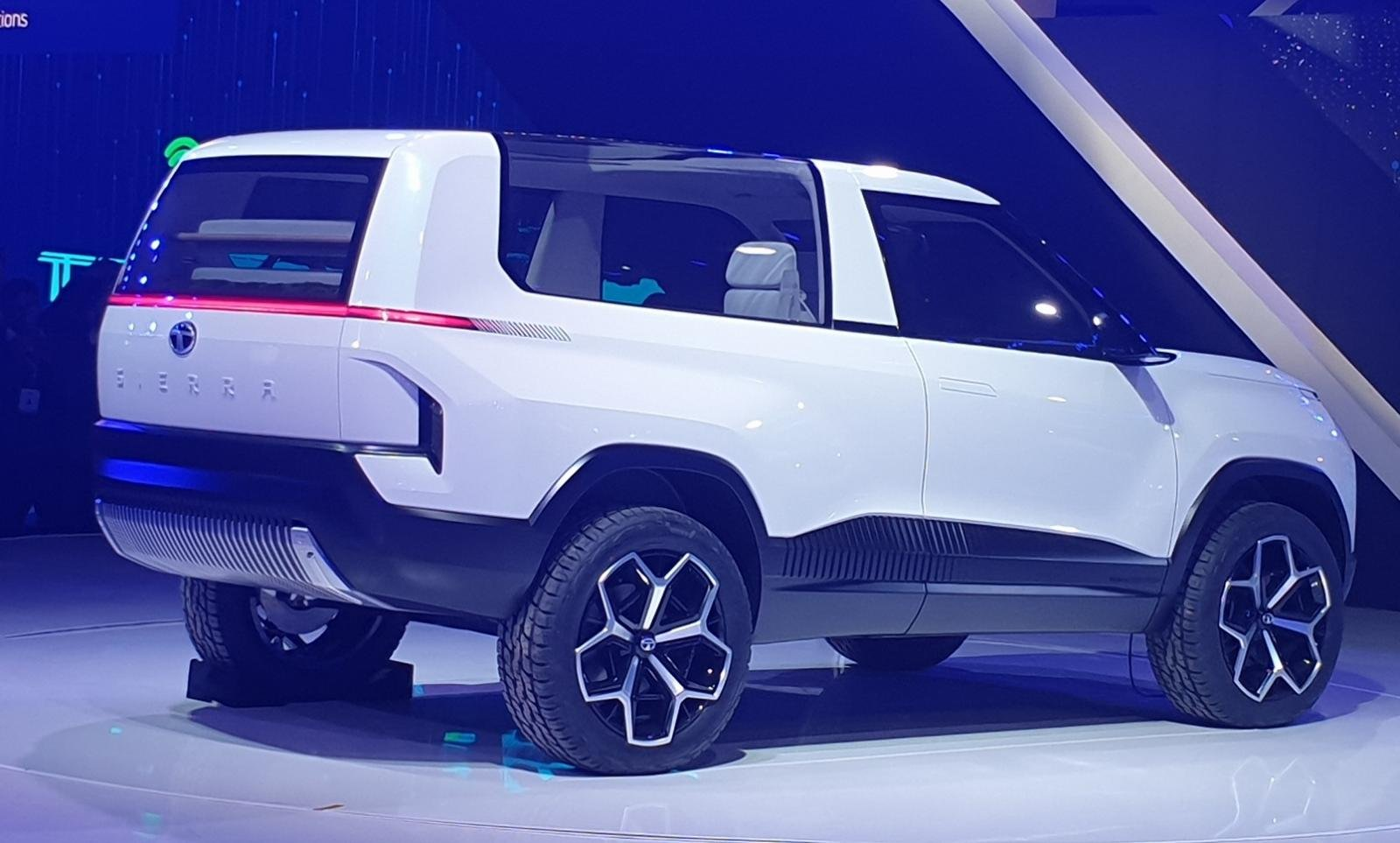 2020 Tata Sierra concept to hit production soon