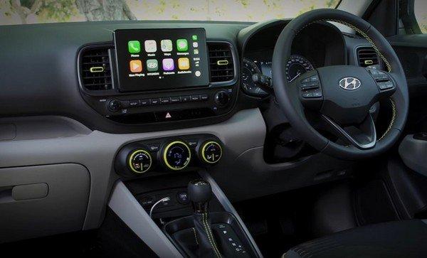 Hyundai venue au interior look dashboard