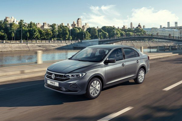 next-gen VW Polo for Russia front three quarters