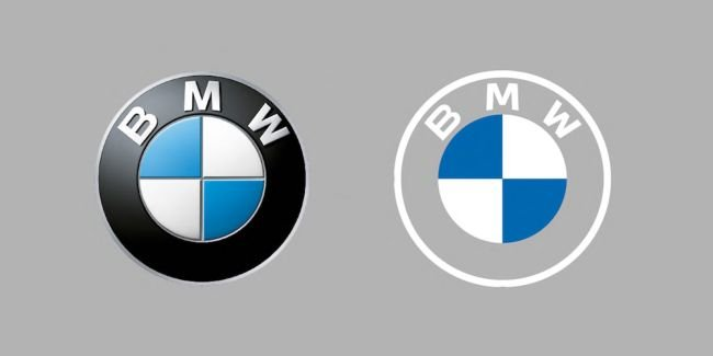 BMW Gets New Logo Design