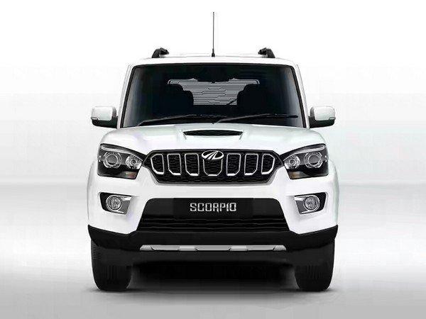Mahindra Scorpio front look