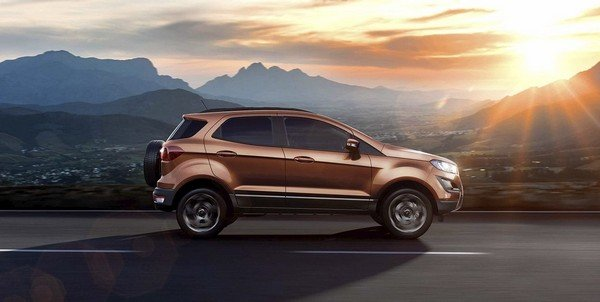 ford ecosport side angle