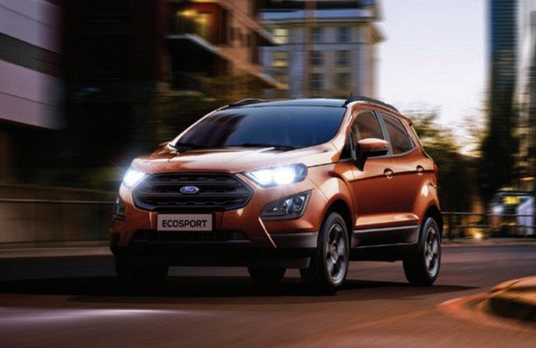 ford ecosport front angle