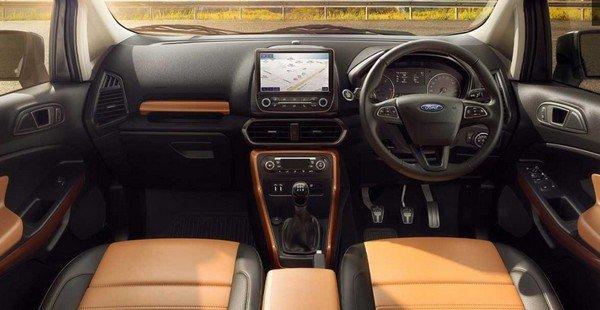 ford ecosport interior dashboard