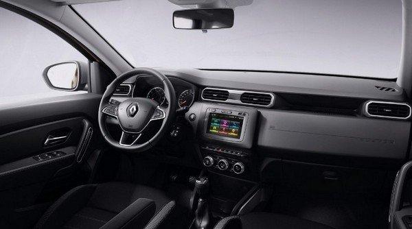 2020 renault duster interior