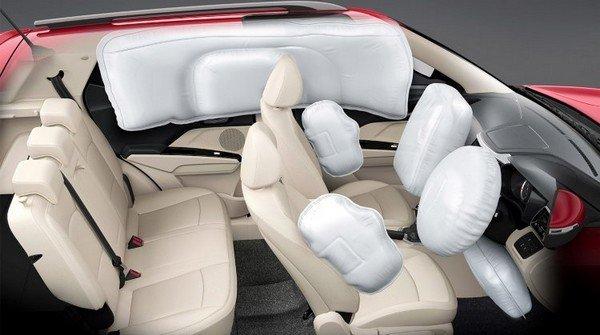2019 mahindra xuv300 interior airbags