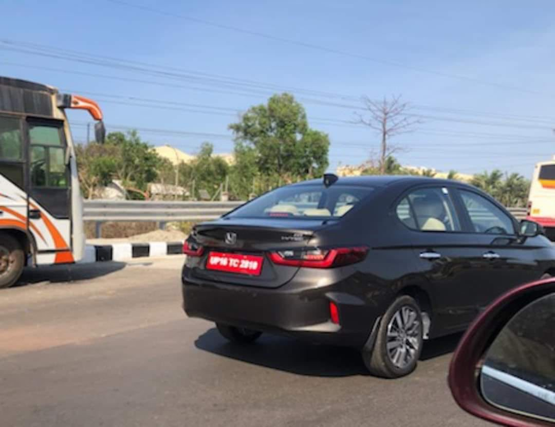 2020 Honda City Spied in Goa a Day After Cancellation of Media Drives