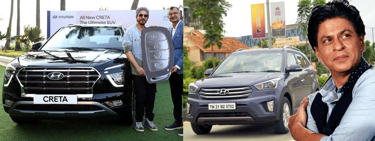 Shahrukh Khan Is the 1st Owner of New Hyundai Creta, Was Also the First One to Own the Earlier Model