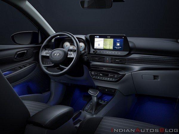 2020 hyundai i20 interior dashboard