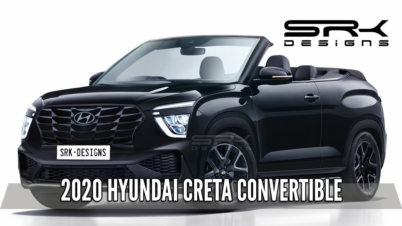 2020 Hyundai Creta Drop Top Looks Uber Cool