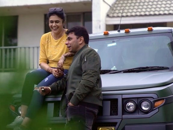 Husband Gifts a Macho-looking Modified Mahindra TUV300 to Wife