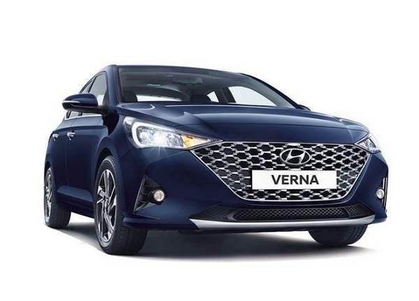 Front side look of the sedan