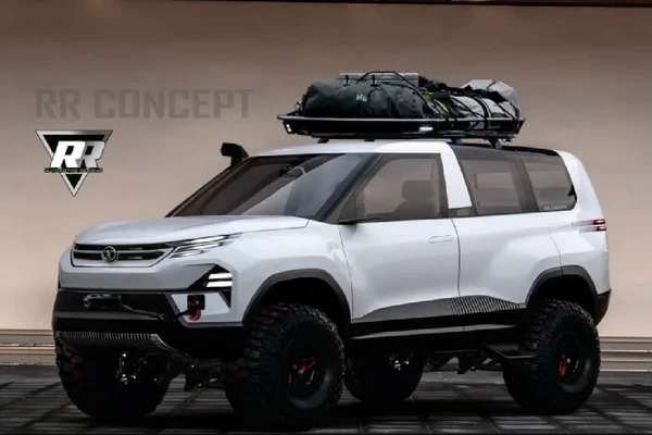 Front side look of the SUV