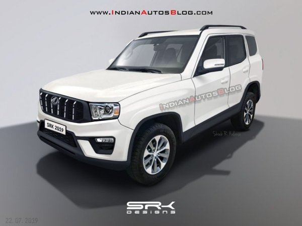 7 seater SUVs in India under 20 lakh new-gen mahindra scorpio 2020 front angle