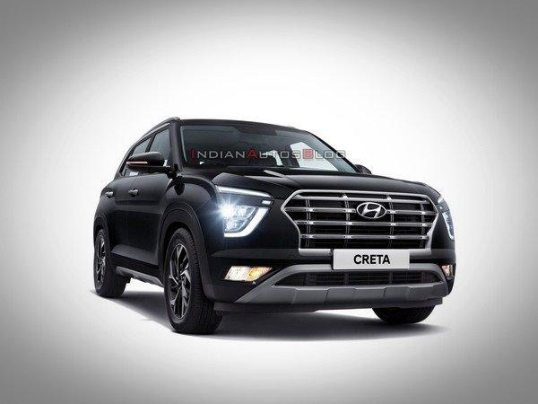 best C-segment SUVs in India - 2020 hyundai creta front end