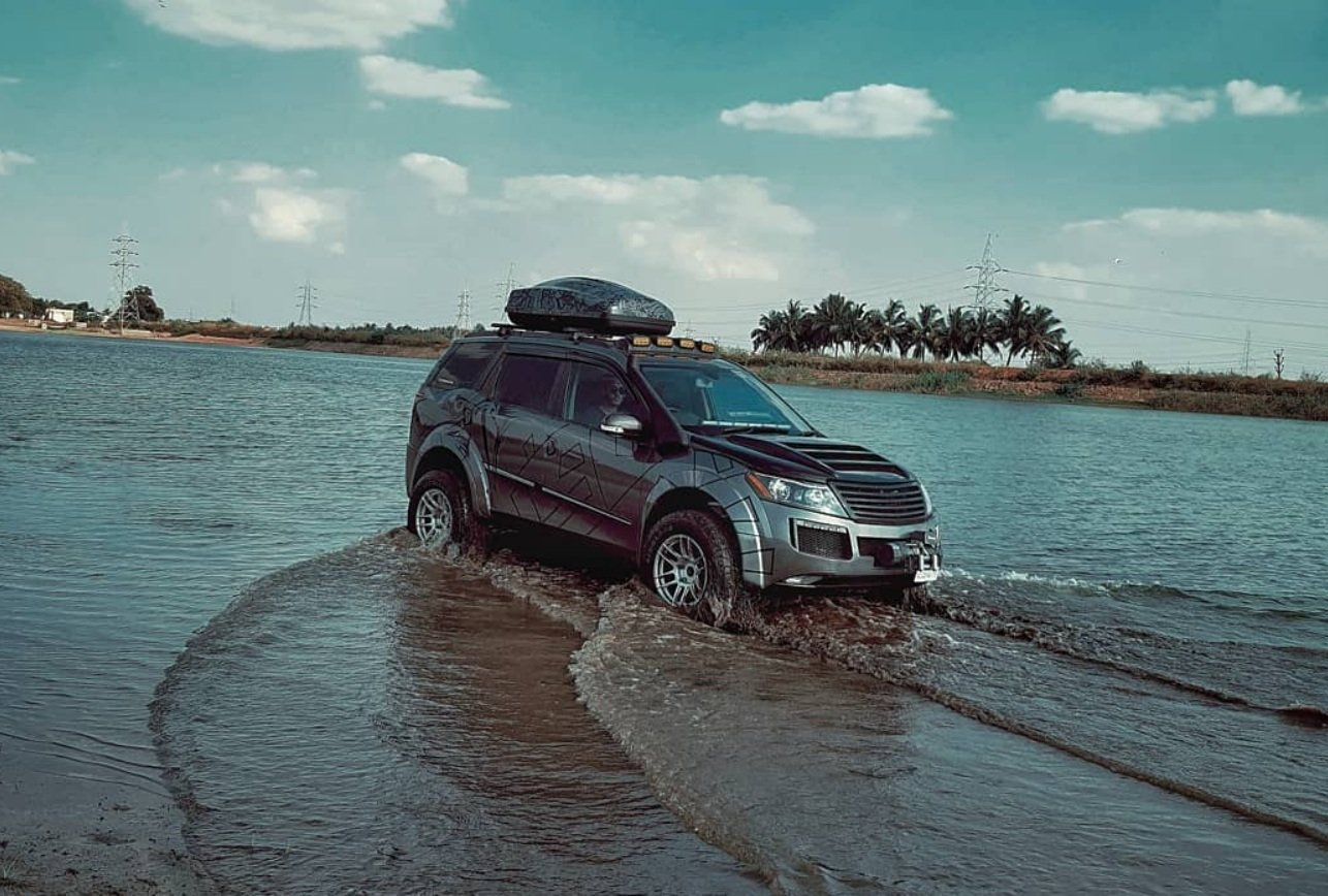 modified XUV500 offroad
