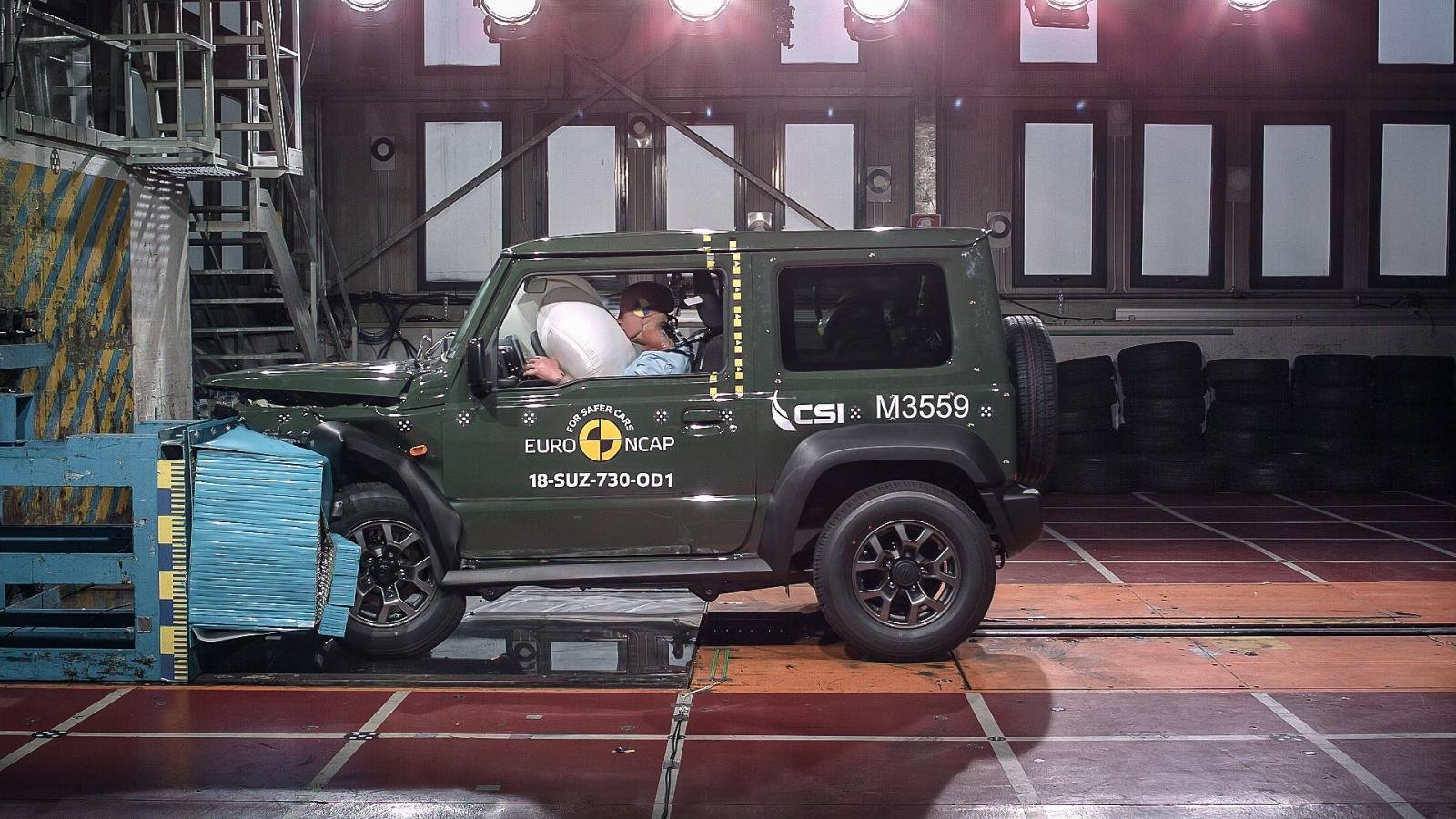 Suzuki Jimny crash test safety rating
