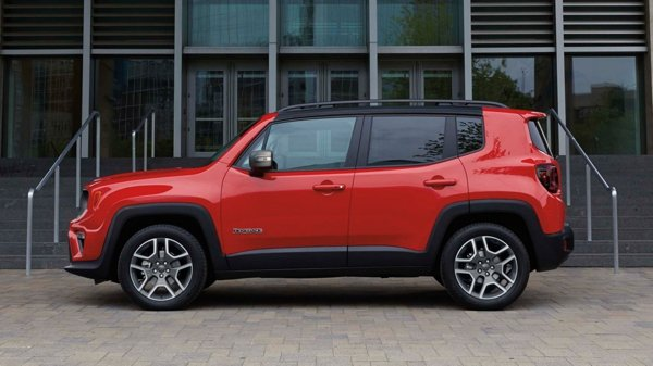 Jeep Renegade side profile image 1