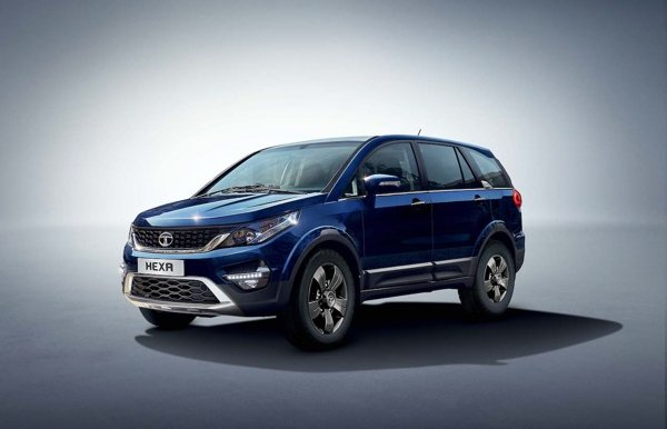 tata hexa front three quarters images 2
