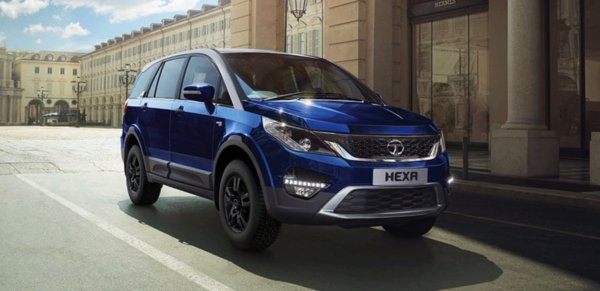 tata hexa front three quarters images 1