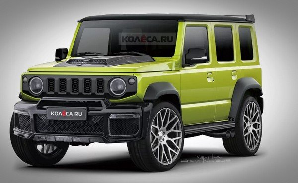 rendered maruti jimny front three quarters image 1