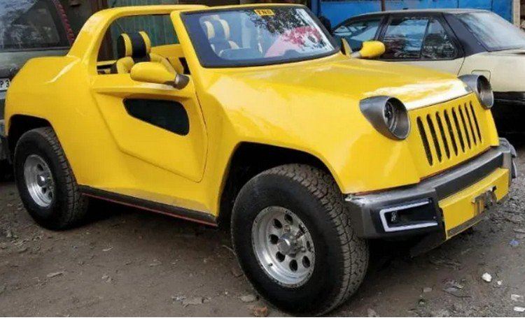 modified maruti gypsy front three quarters image 1