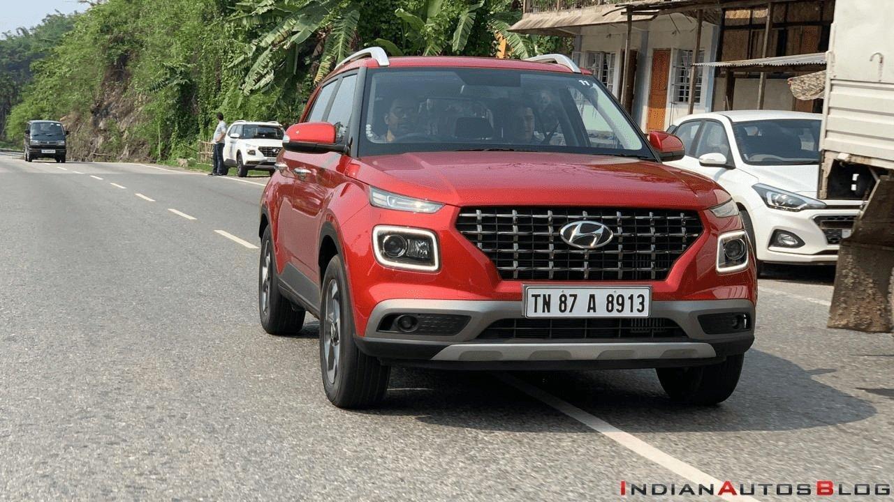 Hyundai Venue front angle