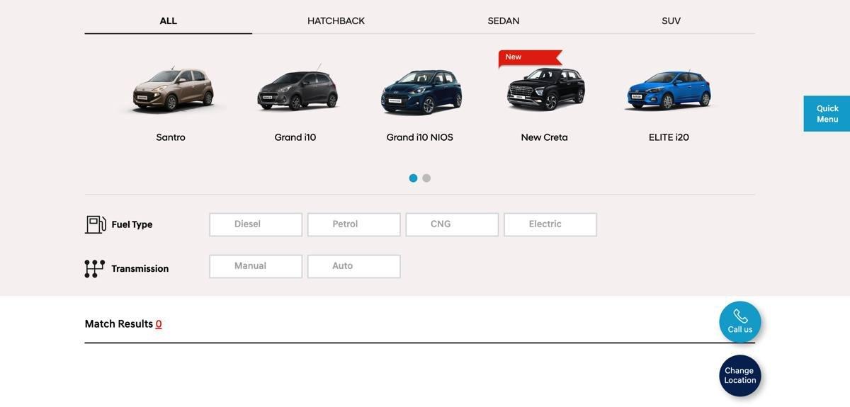 Hyundai online car purchase platform images 1