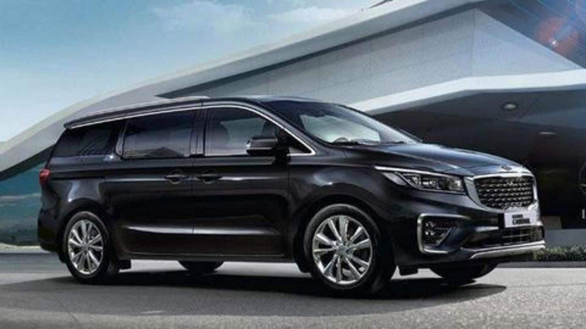 kia carnival side profile