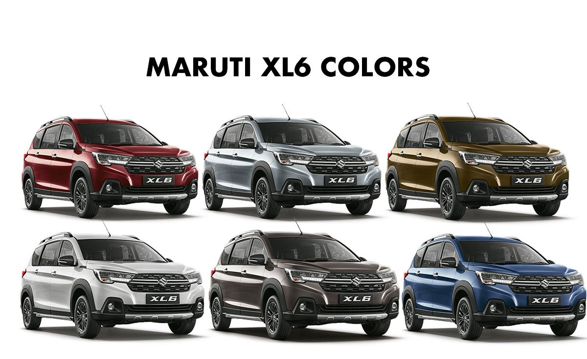 Maruti Suzuki XL6 review color option