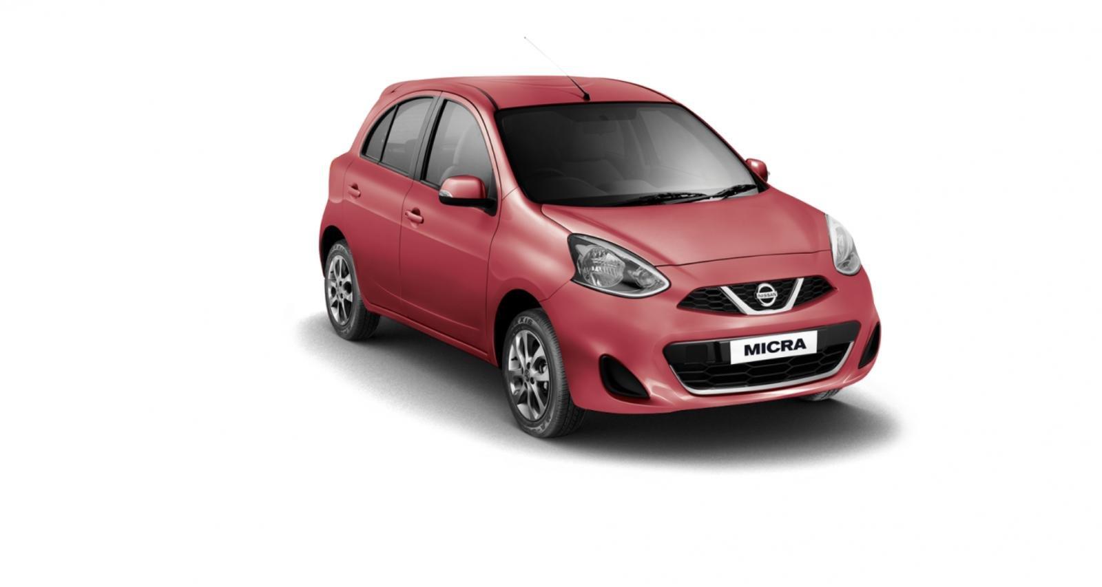 Nissan Micra Brick Red
