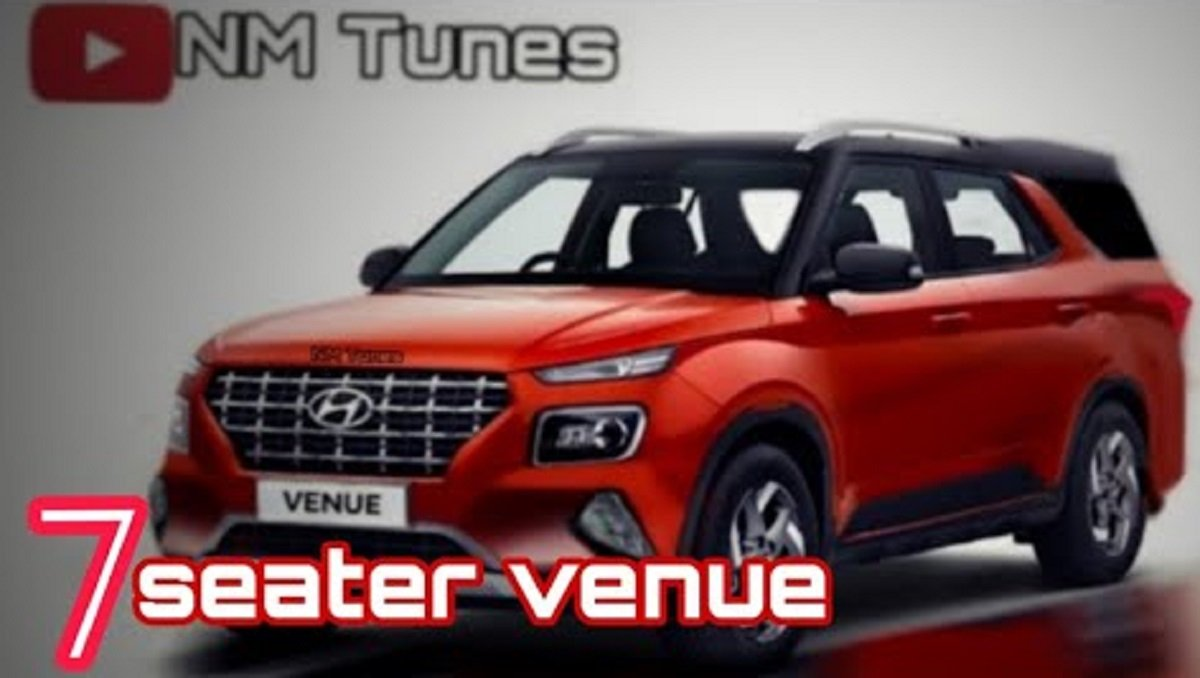 Hyundai Venue 7-Seater Would Look Like this