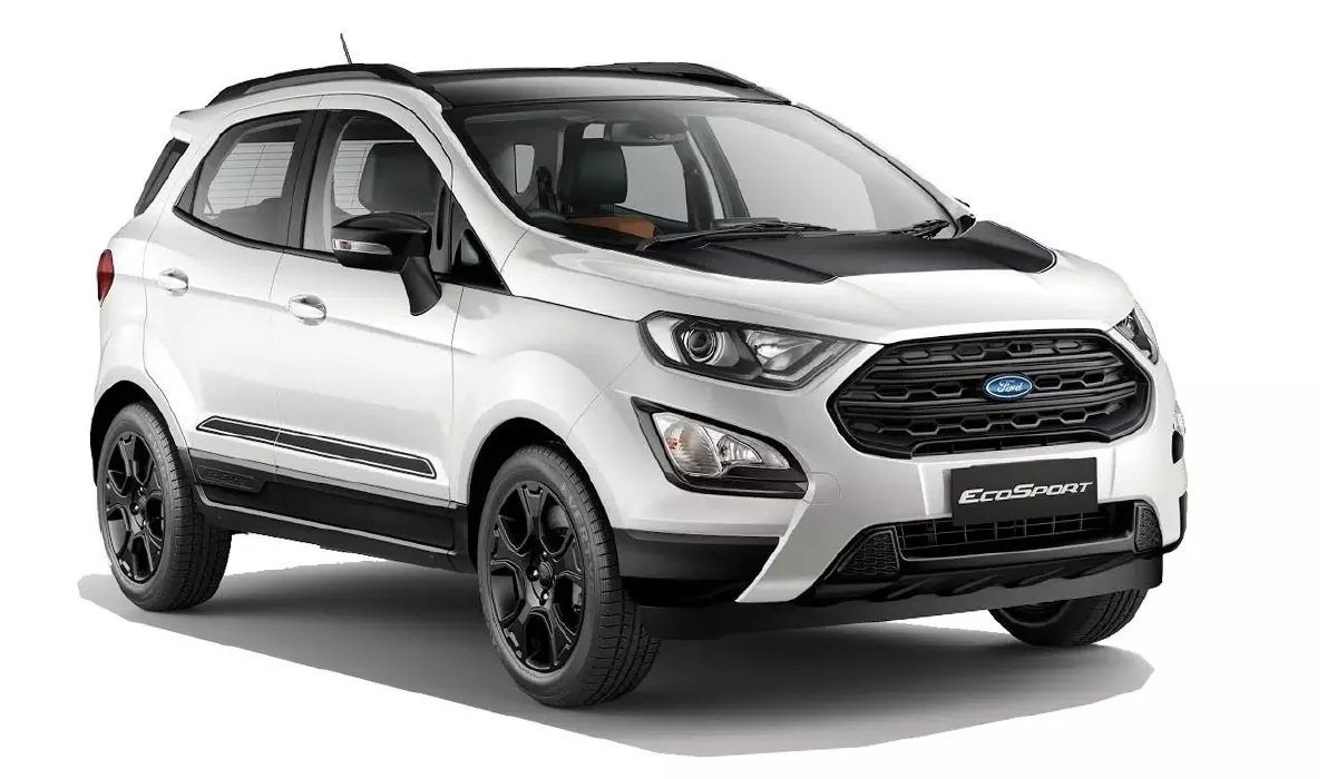 Affordable cars with sunroof - Ford EcoSport