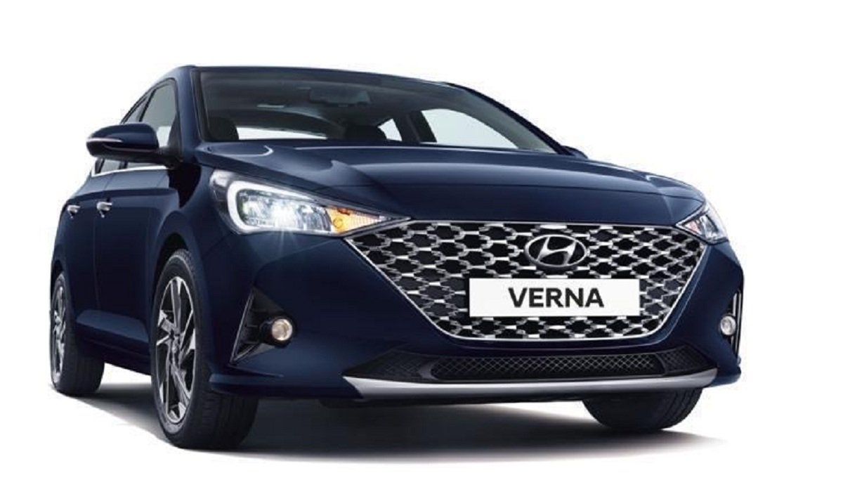 Affordable cars with sunroof - Hyundai Verna