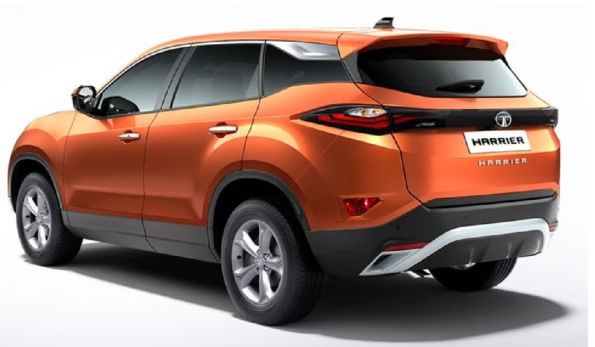 Tata Harrier rear angle