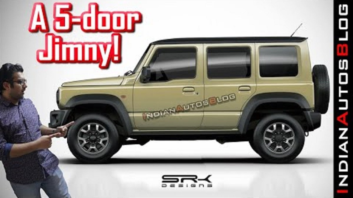Maruti Jimny Looks Proportionate with 5 Doors Instead Of 3