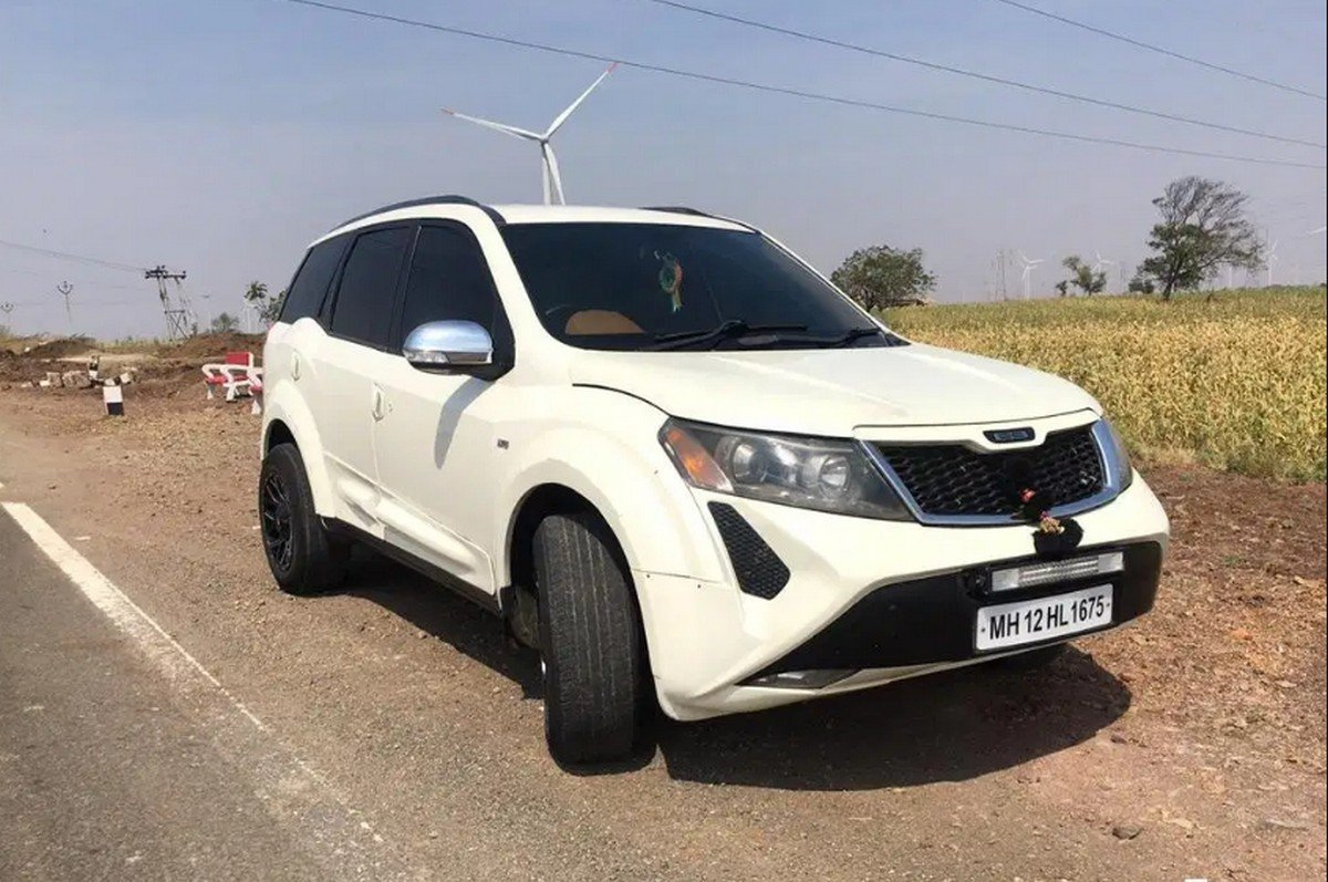 modified mahindra xuv500 by dc design