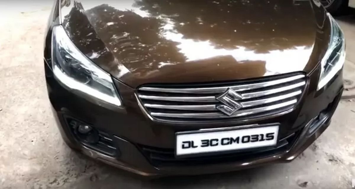Front-look-of-modified-Maruti-Ciaz