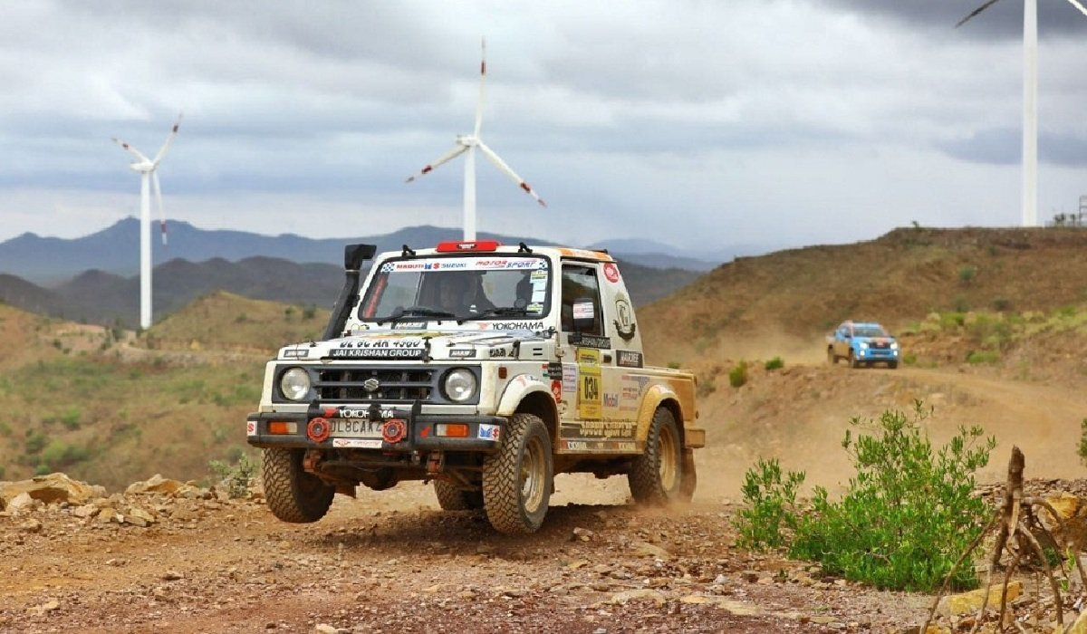 Old is Gold - Maruti Gypsy rally wallpaper
